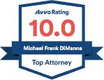 Avvo 10.0 Top Attorney