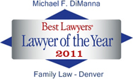 Best Lawyers Lawyer of the Year 2011 Family Law - Denver