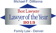 Best Lawyers Lawyer of the Year 2013 Family Law - Denver