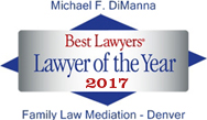 Best Lawyers Lawyer of the Year 2017 Family Law Mediation - Denver