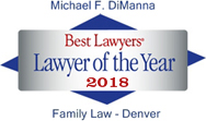 Best Lawyers Lawyer of the Year 2018 Family Law - Denver