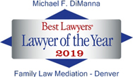 Best Lawyers Lawyer of the Year 2019 Family Law Mediation - Denver
